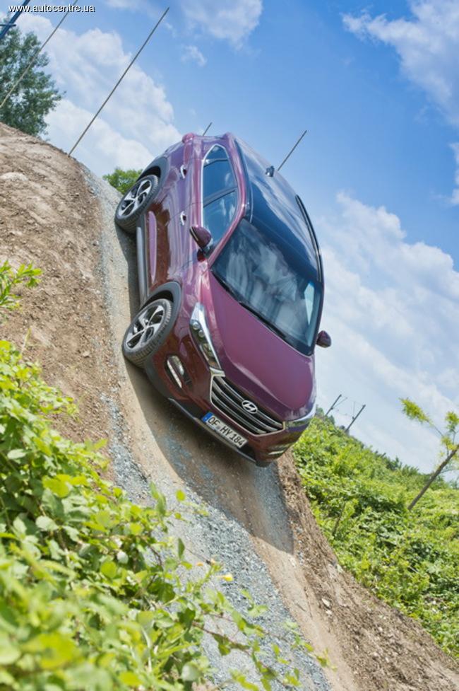 Новый Hyundai Tucson открылся журналистам «Автоцентра»