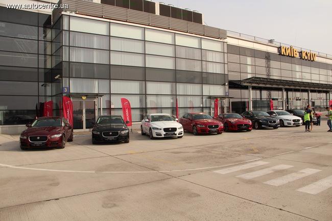 Новый Jaguar XF приехал в Украину