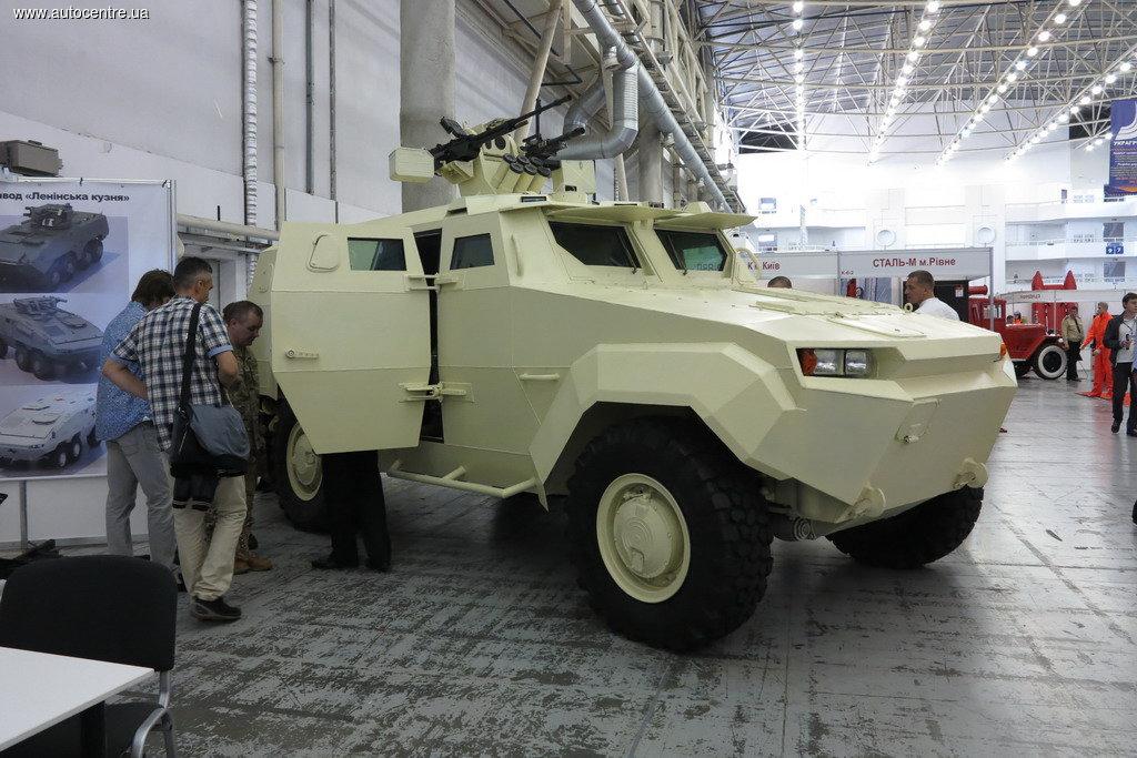 В чем секрет украинского бронеавтмобиля «Тритон-01»