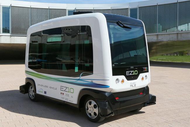 Беспилотные транспортные средства EZ10