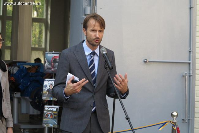 Чрезвычайный и Полномочный Посол Королевства Швеции в Украине господин Андреас фон Бекерат