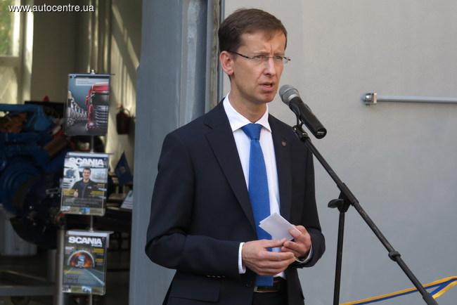 Войцех Ровиньски, генеральный директор ООО «Сканія Украина»,