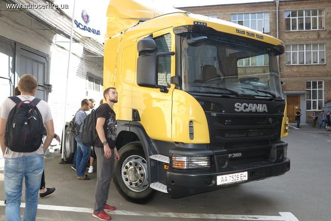 Scania и НТУ открыли учебно-научный центр