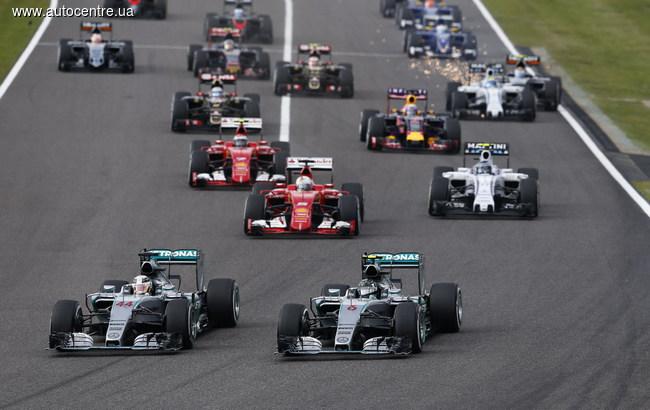 Гран-при Японии: Болельщикам Росберга и Феттеля пришлось забыть о возрождении интриги
