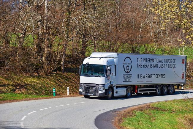 Renault Trucks проводит финал конкурса по экономичному вождению