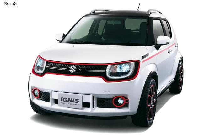 Suzuki рассказала о своих новинках на автошоу в Токио