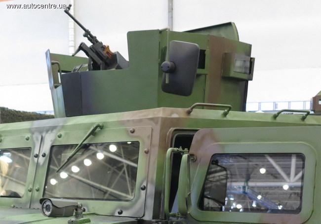 Выпущен первый украинский броне-Hummer