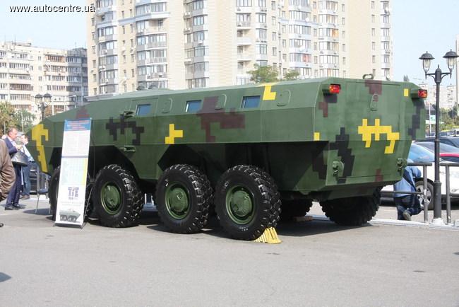 В Украине БТР-70 превратили в «Варан»