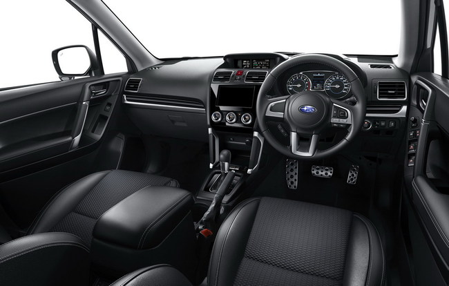 Subaru обновляет Forester