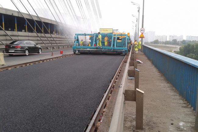 Южный мост в Киеве открыт для проезда!