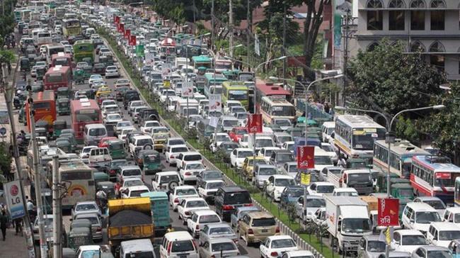 В каком городе мира самые длинные пробки