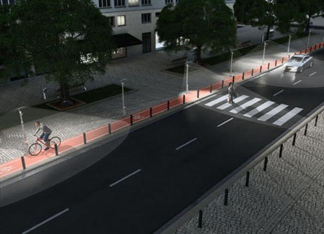 Уличное освещение станет интеллектуальным