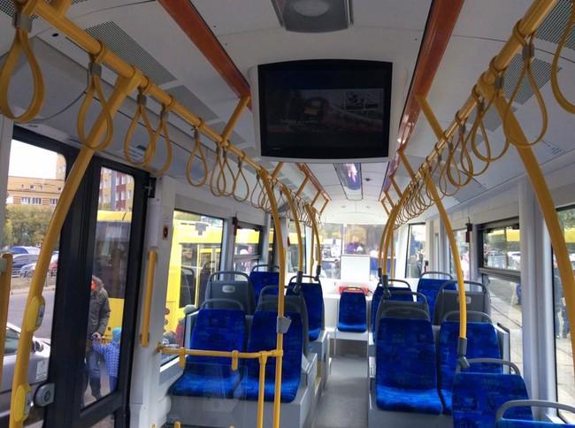 Виталий Кличко презентовал новый трамвай