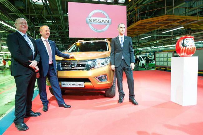 На испанском заводе Nissan в Барселоне в начале октября торжественно запустили в серию полностью новую модель NP300 Navara