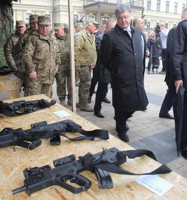 открытие выставки военной техники «Сила непокоренных»