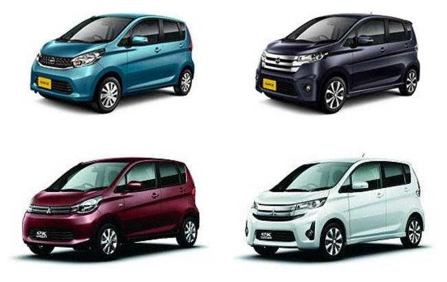 Mitsubishi и Nissan работают над новыми кей-карами