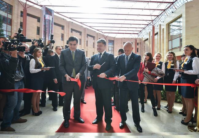 Первый Центр обслуживания граждан в Украине был открыт в Одессе 16 октября