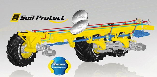 Компании Michelin и ROPA удостоены награды за инновационную разработку R-Soil Protect