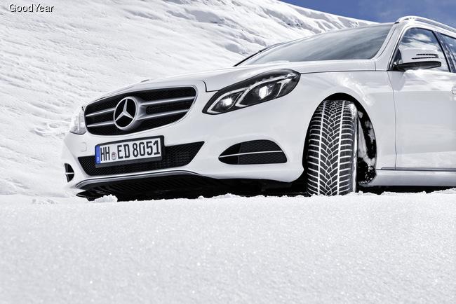 Новые зимние шины от Goodyear