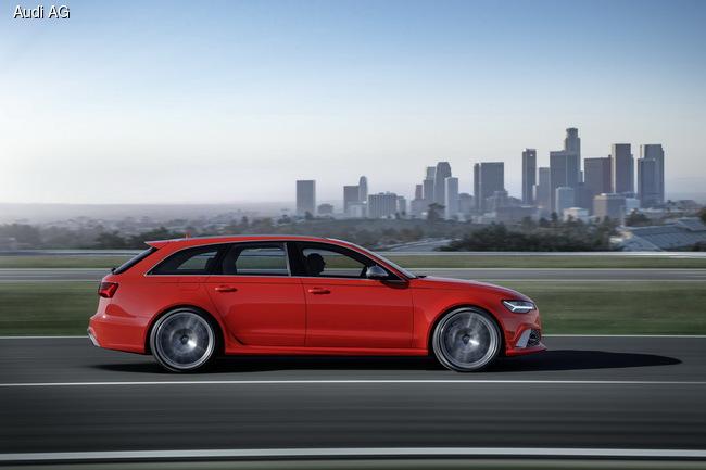 Audi RS 6 Avant и RS 7 Sportback: Подзарядка