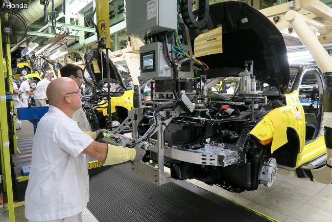 Honda Civic 10-го поколения запущен в производство