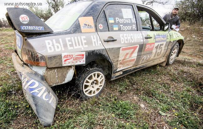 В Белгороде-Днестровском финишировал первый в истории страны ЧУ по мини-ралли