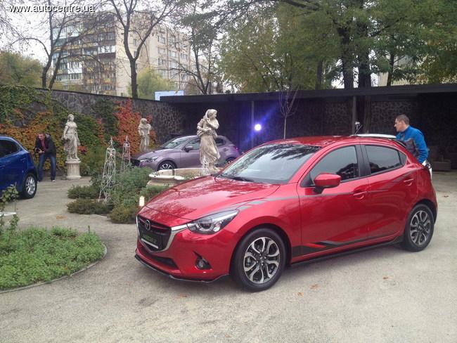 В Украине состоялась презентация новой Mazda2