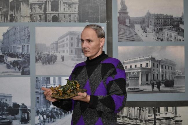 Научный сотрудник историко-краеведческого музея Василий Прокофьева