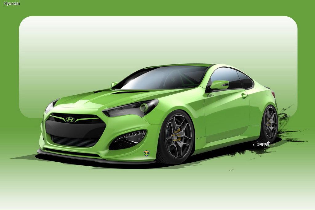 Hyundai Genesis форсировали до 500 сил