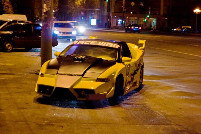 В Черкассах появился автомобиль для бэтмена!