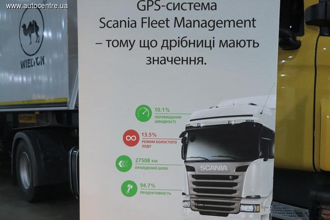 «Интер Агро Комплекс 2015»: инновационная техника Scania