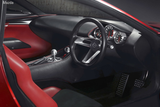 Mazda презентовала стильное роторное купе