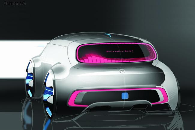 Mercedes-Benz создал минивэн с автоплиотом
