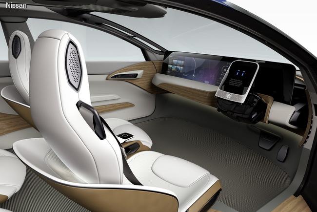 Nissan IDS Concept может ездить без водителя
