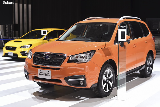 Subaru привезла в Токио мыожество премьер