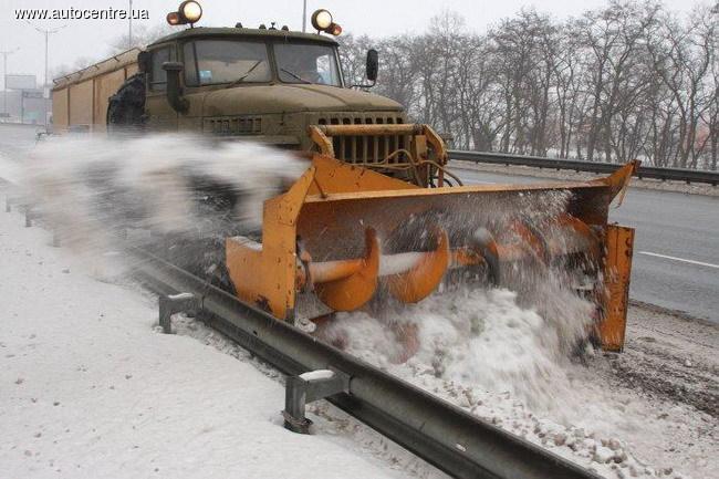 Украинские дорожники готовы к зиме на 60%