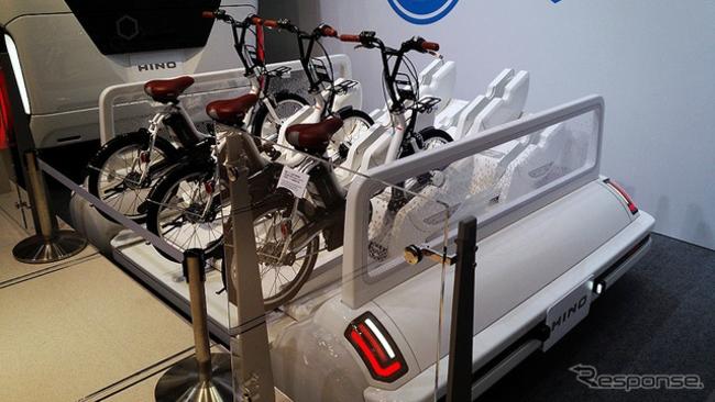 Автобус Hino Fuel Cell