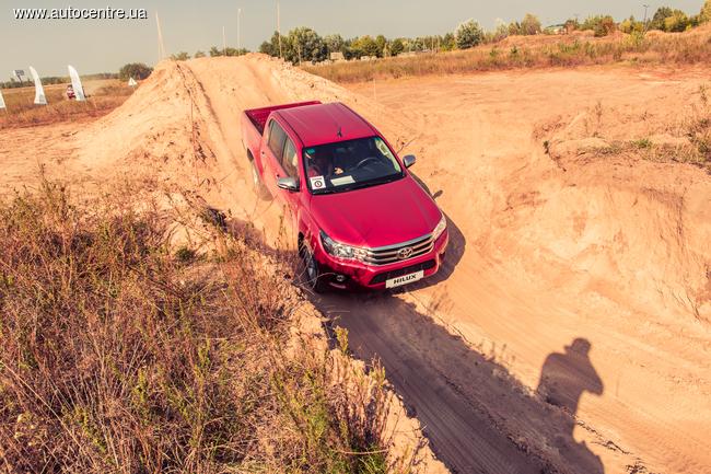 В Украине состоялась официальная презентация нового поколения Toyota Hilux
