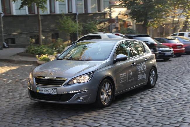 Peugeot ECOrally: в Украине установлен новый рекорд экономичности 2,2 л/100 км