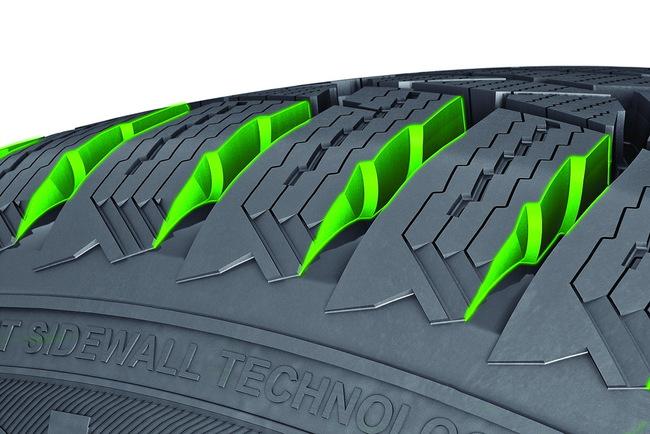 Новые зимние шины от Nokian