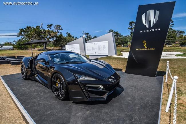 Fenyr SuperSport: арабы презентовали свой суперкар