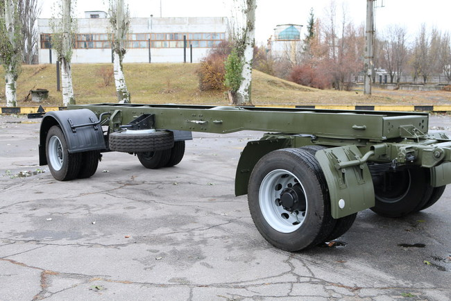 Прицеп-шасси КрАЗ-А191Н2