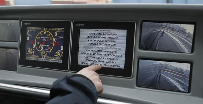 Виталий Кличко опробовал новый трамвай «Электрон» (+ВИДЕО)