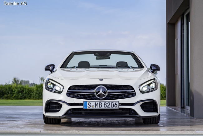 Mercedes-Benz SL привезут в Лос-Анджелес