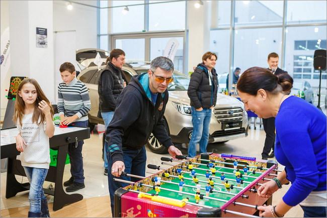 В Киеве состоялся первый Subaru Weekend