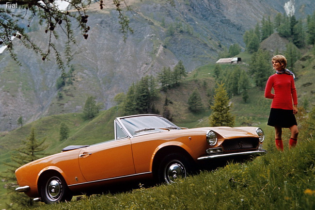 Fiat дебютировал в Лос-Анджелесе с родстером 124 Spider