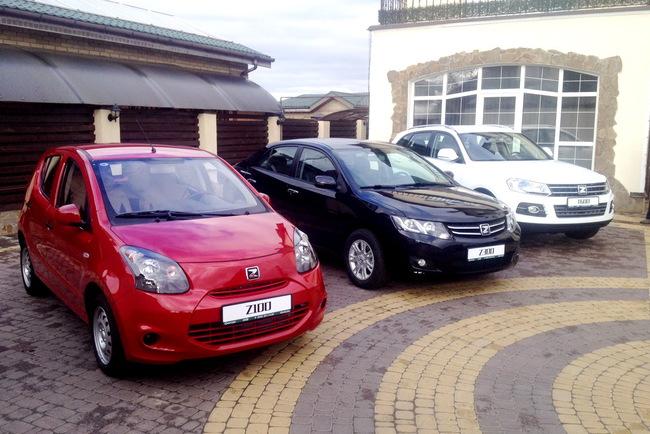 В Украине начинаются продажи автомобилей марки Zotye