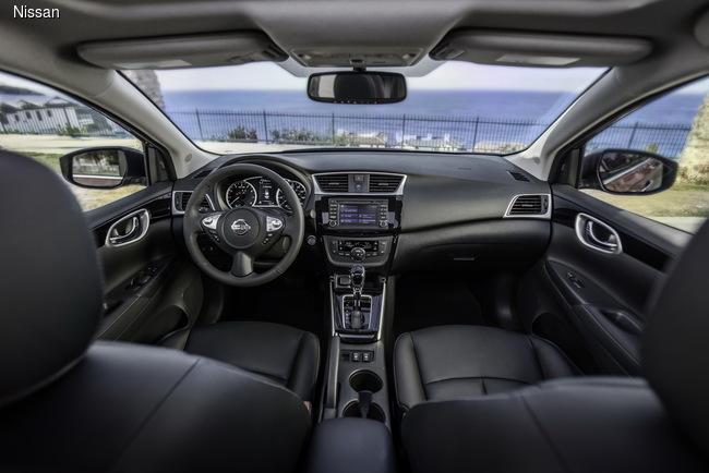 Nissan Sentra обновили к автошоу в Лос-Анджелесе