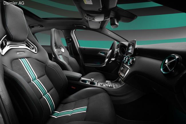 Mercedes-Benz показал «чемпионскую» версию A45 AMG