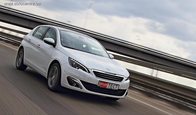 Peugeot 308 1.6 THP Allure: точность его конек